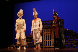 Aladdin, Sultan + Jafar